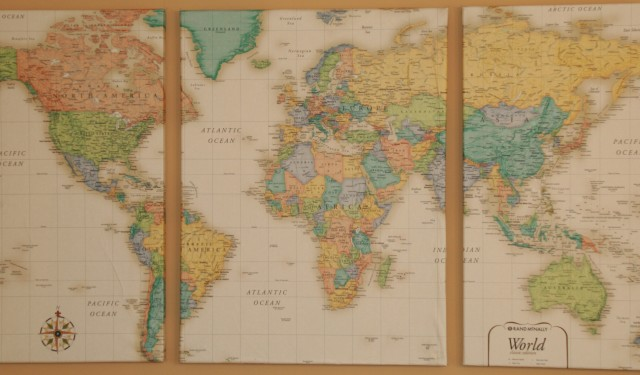 DIY Wall Map