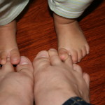 Lessons in Parenting #2: Putting Your Foot Down