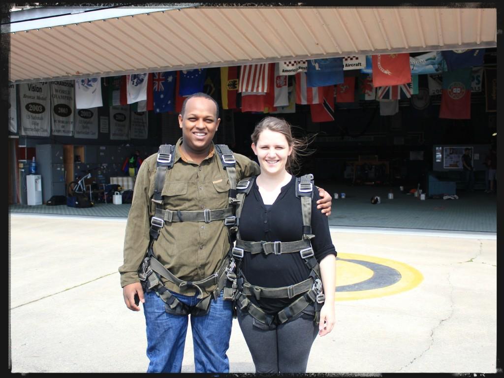 Before Skydiving