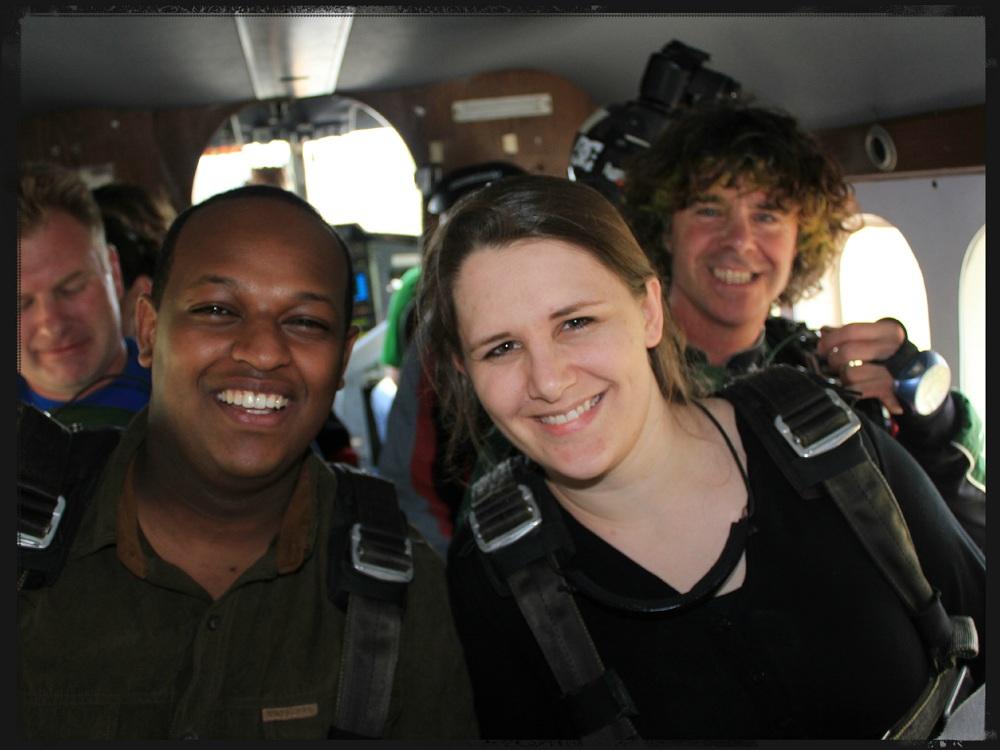 Skydiving plane ride