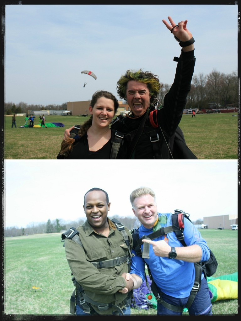 Successful tandem skydive