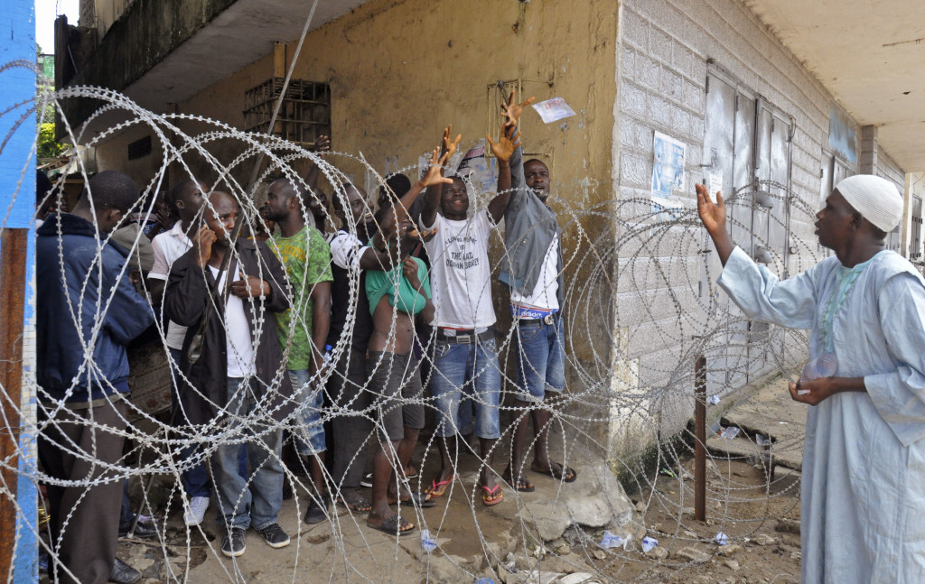 Quarantine or Concentration Camp? Ebola In West Point, Liberia