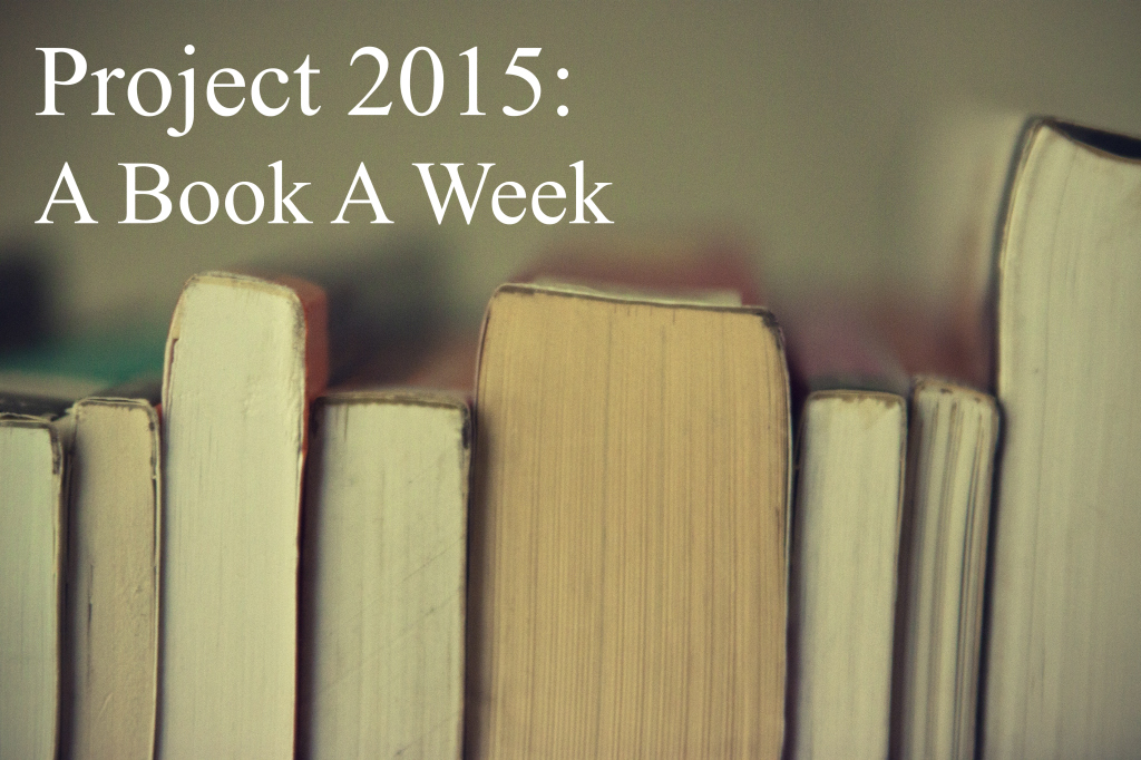 Project 2015: A Book A Week